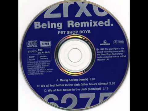 Pet Shop Boys - Being Boring (Marshall Jefferson 12