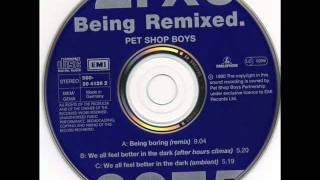 "Pet Shop Boys - Being Boring (Marshall Jefferson 12"" Mix) HQ AUDIO"