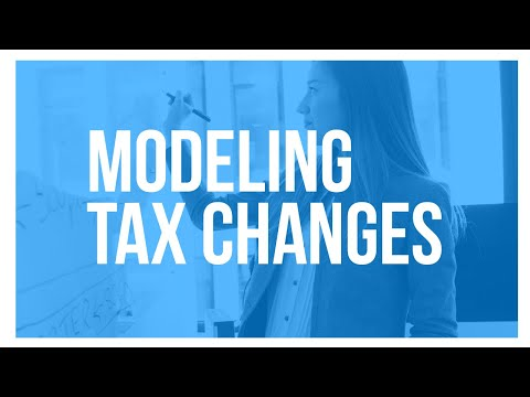 Tax Foundation University 2017: Modeling Tax Changes — Which Help, Which Hurt, How Much?