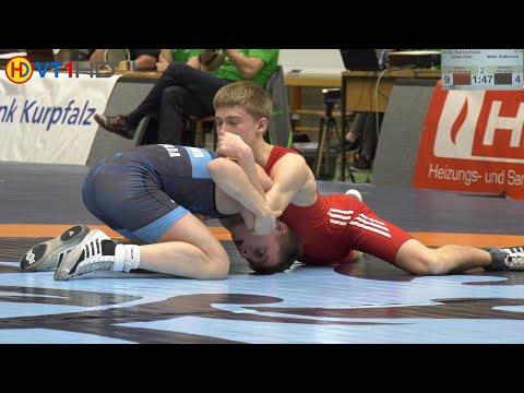 ????   Wrestling   German Championships 2019 Cadets (Freestyle) - 51kg Bronze   EDEL vs. GUTHMANN