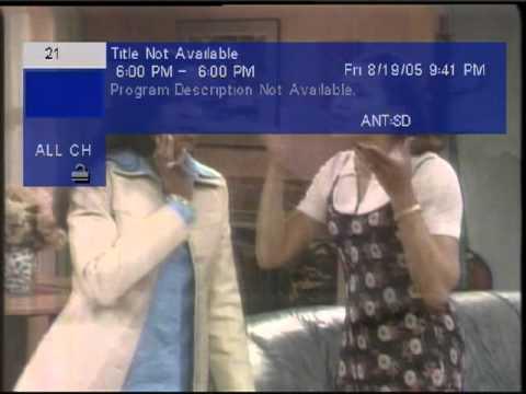 NTSC Analog and ATSC Digital in 2005