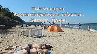 Калининградская область. Светлогорск. Август. Пляж