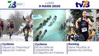 7/8 Sports. Emission du lundi 9 mars 2020