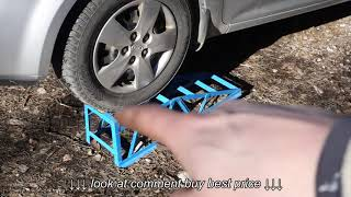 How to use drive ramp tool with oil service