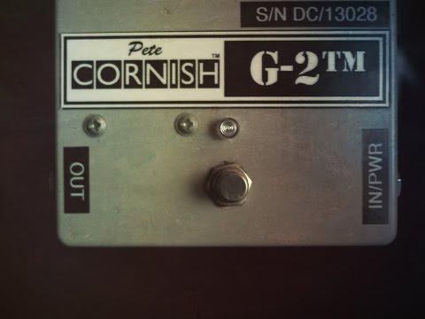 Pete Cornish G2 w/Stratocaster