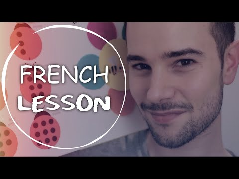ASMR RELAXING FRENCH LESSON 🤓 (english)