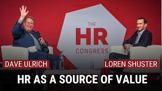 TALKING HEADS: HR as a Source of Value | DAVE ULRICH \u0026 CHRO of Lego Group, LOREN SHUSTER
