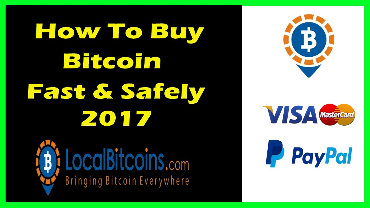 Localbitcoins Tutorial  How To Buy And Sell Bitcoin Safely And Easily 2017