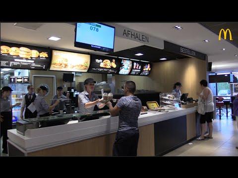 Versere producten na introductie nieuw systeem McDonald's Veghel