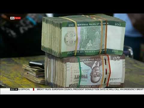 $104 million in cash has gone missing! (Liberia) - BBC News