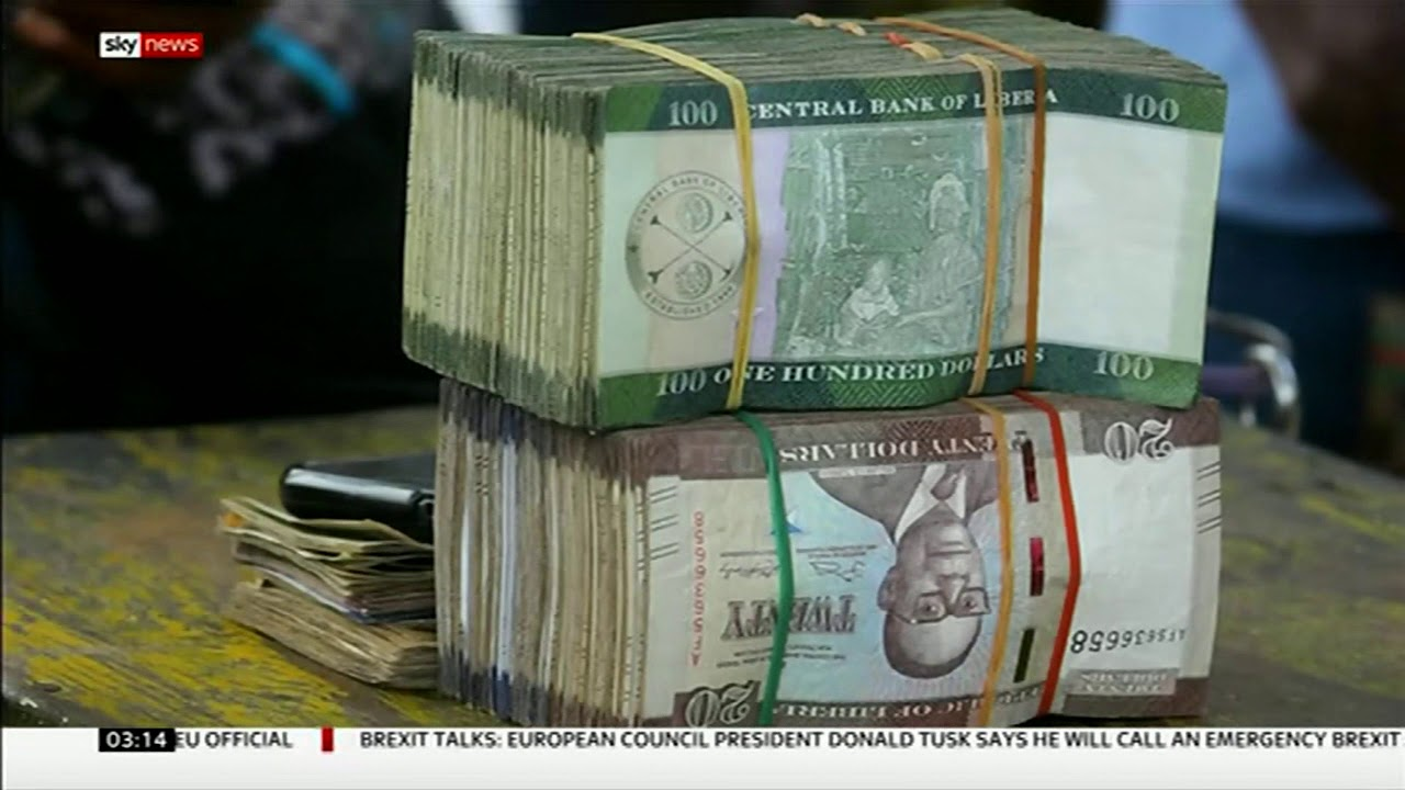 $104 million in cash has gone missing! (Liberia) - BBC News - 20th September 2018