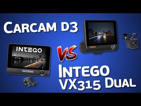 Carcam D3 и Intego VX-315Dual - бюджетные трехкамерные видеорегистраторы. Может лучше AliExpress?