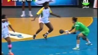 [Handball CAN 2012 DAME] CGO 20-23 ALGERIE  Match de poule (2ème mi-temps)