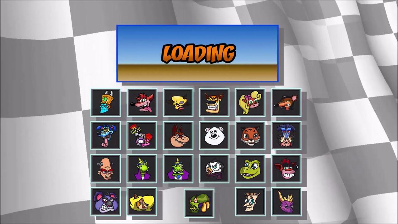 Crash Team Racing Nitro Fueled - Possible Characters