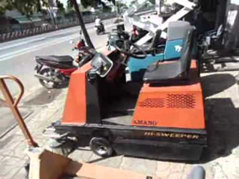 Used AMANO SWEEPER Japanese Machine For Sale From Vietnam