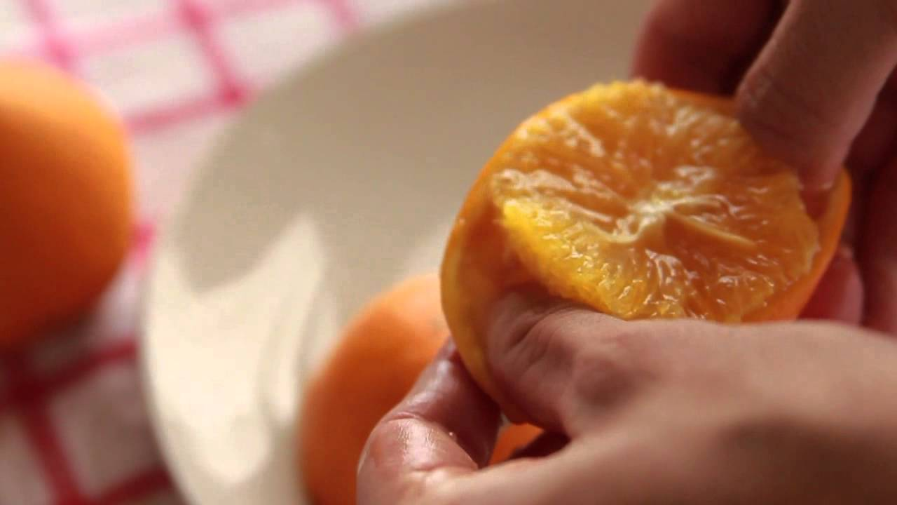 Estremamente come fare una candela con un'arancia - YouTube IK22