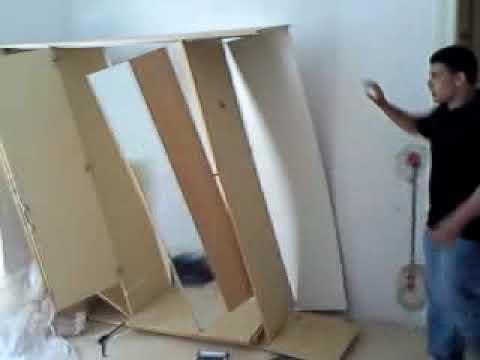 so baut man einen schrank ab youtube. Black Bedroom Furniture Sets. Home Design Ideas
