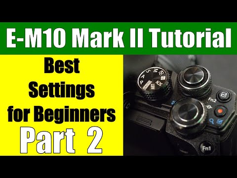 Olympus OM-D E-M10 Mark II: Best Settings for Beginners - Function Buttons Part 2