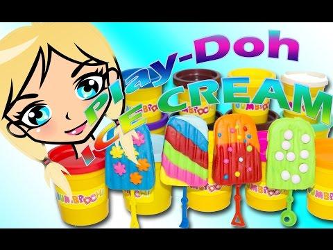 🍭🍧🍡Toye makes Play-Doh ICE CREAM🍡🍧🍭