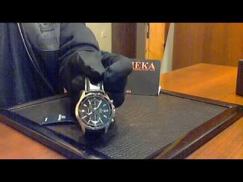Видео обзор часов CASIO EFR - 531L-1AVUEF by Deka.ua