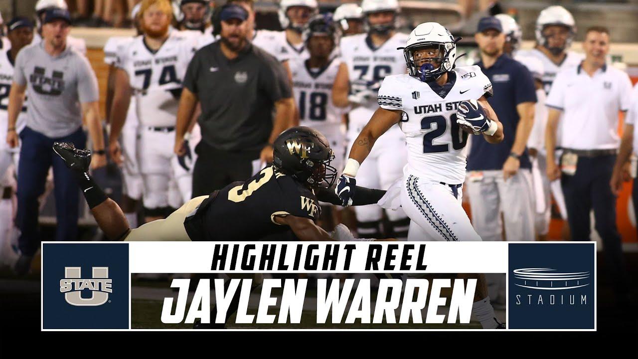 Oklahoma State vs. Boise State football: Jaylen Warren rushes for a ...