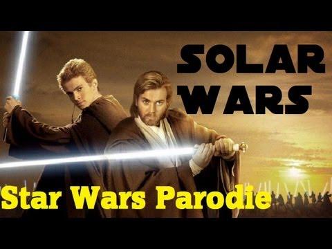 Solar Wars: Angriff Der Klokrieger - Star Wars Synchro/Parodie/Verarsche