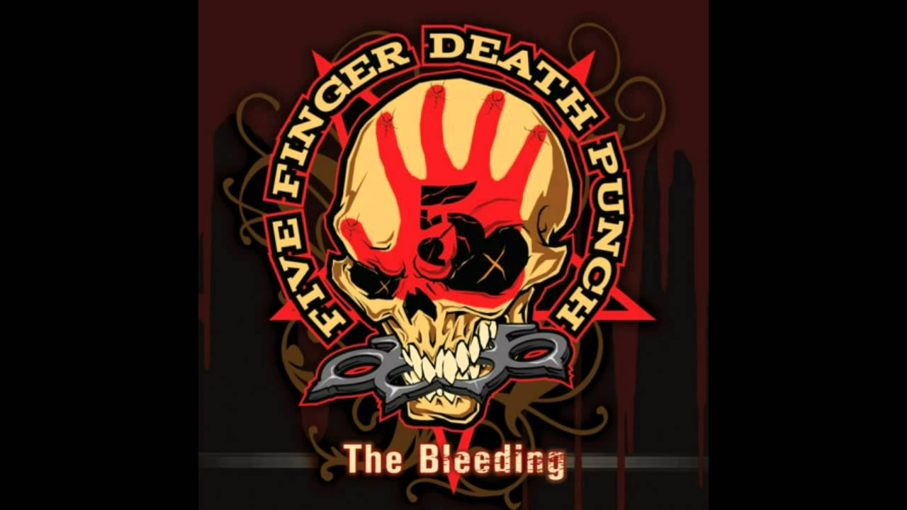 Five Finger Punch The Bleeding Slower Evil Versionhd You