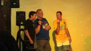 Vince White, Paddy and Mo - Mustang Sally - The Irish Bar, Menorca 2014