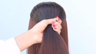 easy everyday hairstyle || simple hairstyle for saree | juda hairstyle | hairstyle for girls