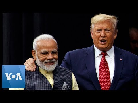 U.S. President Trump and India's PM Modi Attend Texas Rally 'Howdy Modi'