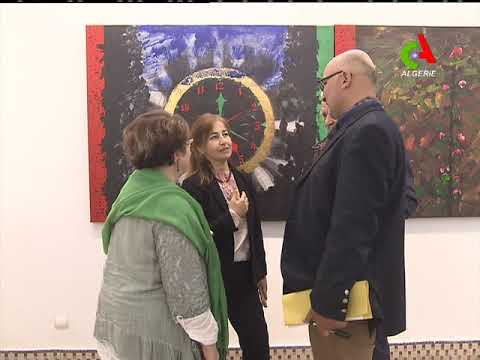 Musée national des beaux-arts: Exposition turque sur l'art plastique moderne.