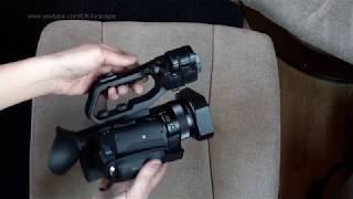 Компанія Sony HXR по-NX80 4К відеокамери розпакування