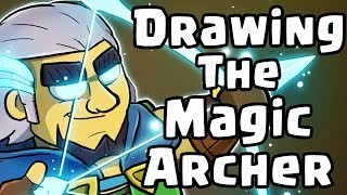 Gambar cover Drawing THE MAGIC ARCHER - Clash Royale