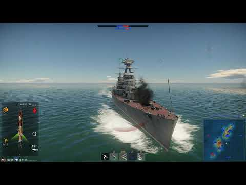 War Thunder  Kirov 2019 09 22 (Naval Enduring Confrontation )
