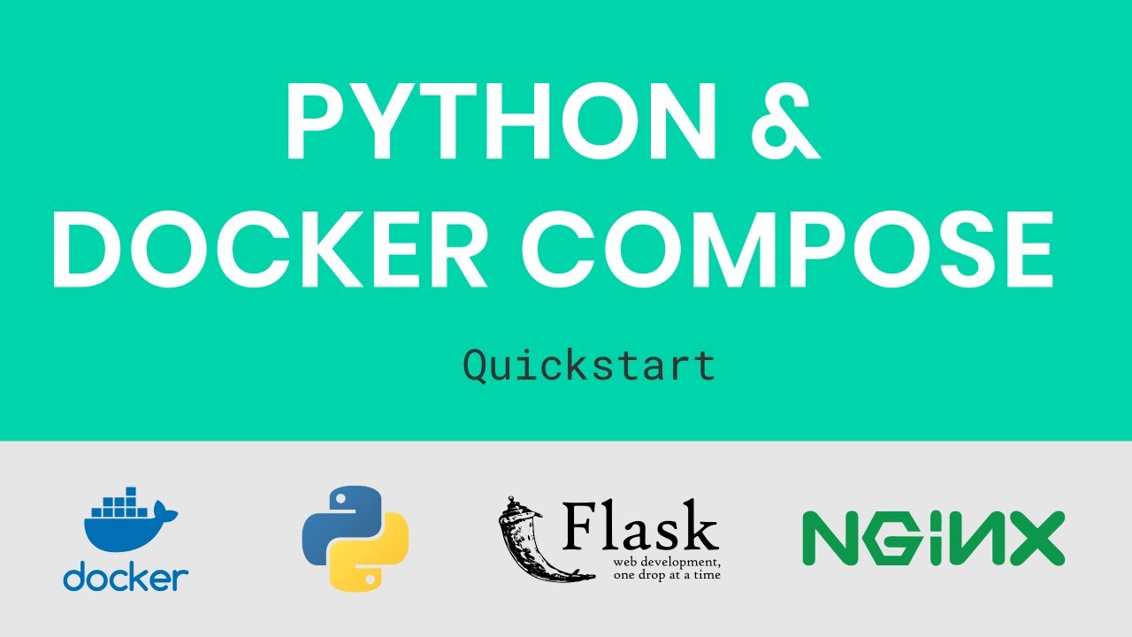 Containerizing Python web apps with Docker, Flask, Nginx & uWSGI
