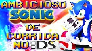 O AMBICIOSO SONIC de CORRIDA do DS ! BETA ( Curiosidades dos Jogos Games Team Sonic Racing Análise)