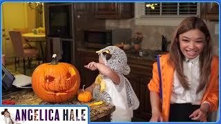 Halloween hello and pumpkin carving!
