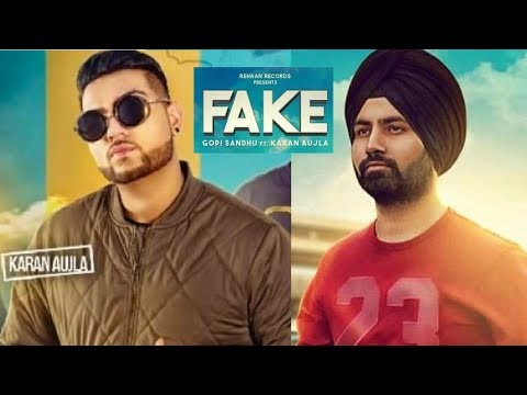Download Youtube: Bande Fake (Full Video) Gopi Sandhu feat. Karan Aujla | Rupan Bal films | Latest Punjabi Songs 2017