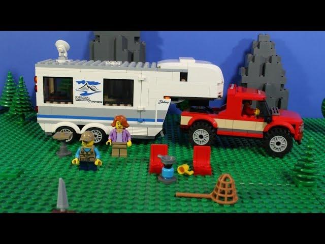 LEGO Pickup & Caravan 60182