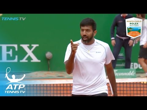 Showboating and hot shots from the doubles final | Monte-Carlo Rolex Masters 2017
