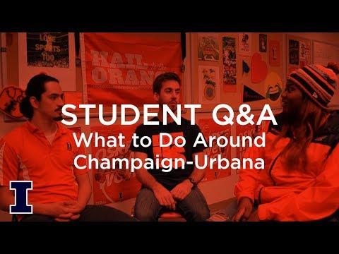 Student Q&A: What To Do Around Champaign-Urbana