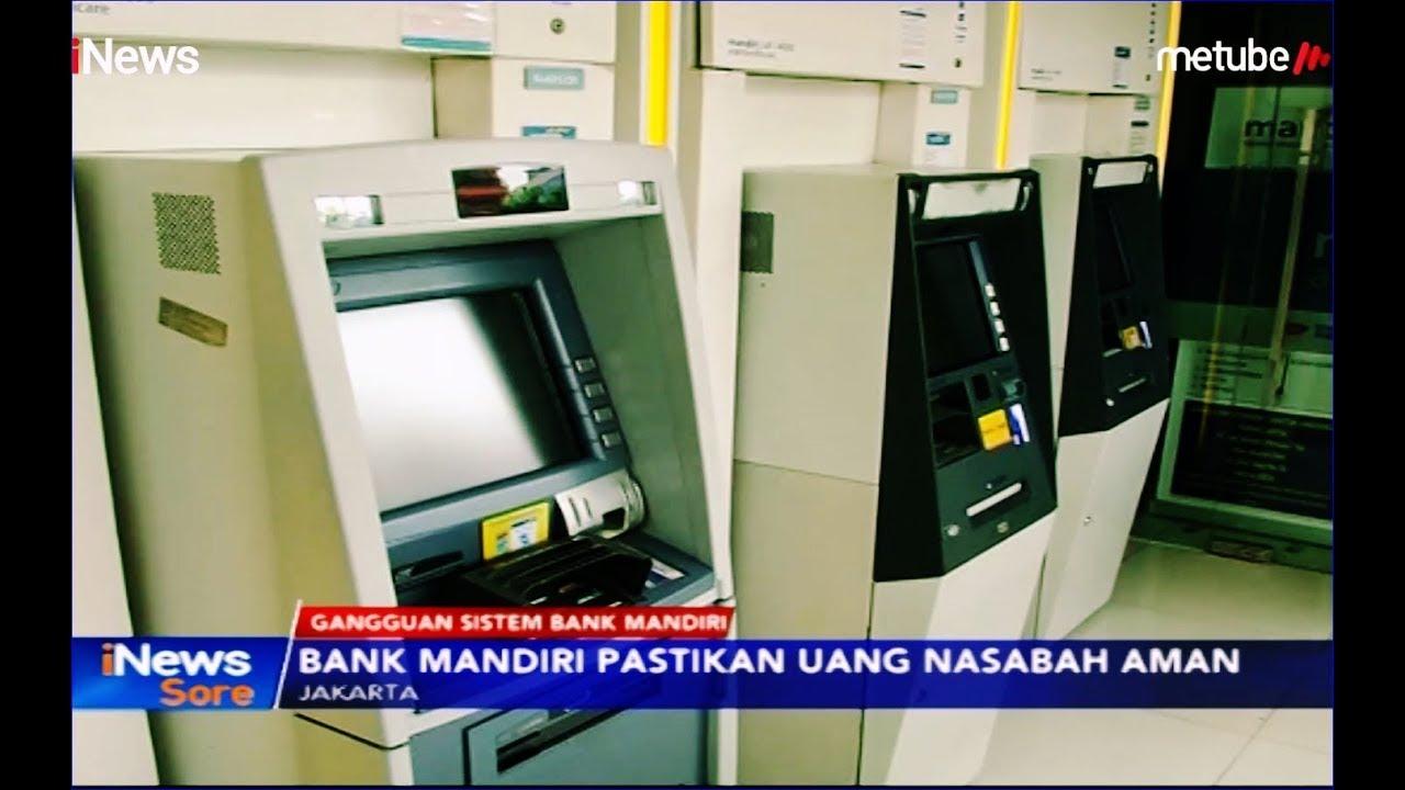 Gangguan Sitem Bank Mandiri Mesin Atm Tak Bisa Digunakan Inews Sore 20 07 Youtube