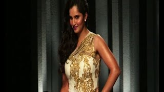 Sexy Sania Mirza ramp walk at Bridal Show UnCut