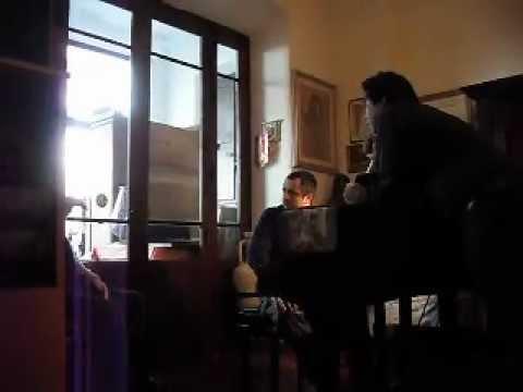 Rolando Panerai con Basso jong sung park 박종성