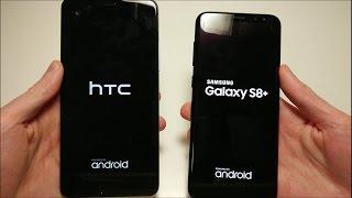 Samsung Galaxy S8 Plus vs HTC U Ultra Speed Test!