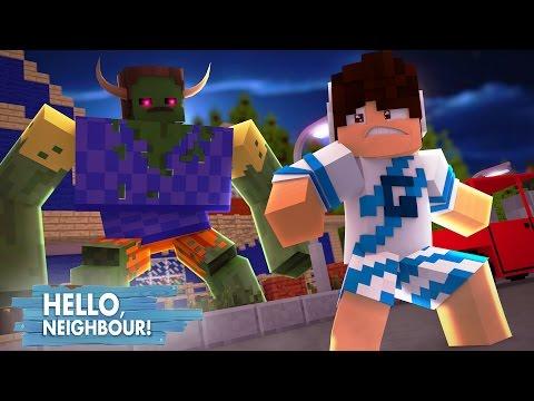 Minecraft: HELLO NEIGHBOR - O VIZINHO VIROU UM MONSTRO!