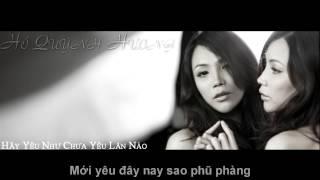 Hãy yêu như chưa yêu lần nào - Hồ Quỳnh Hương