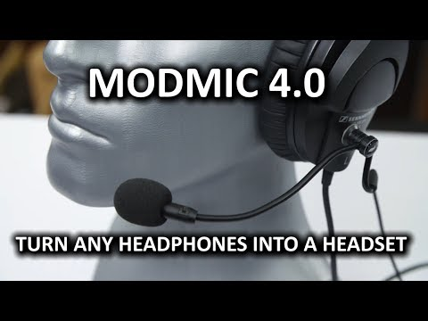 Antlion ModMic 4.0 - Awesome Modular Headset Microphone
