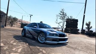 Need for Speed™ Payback NUEVO AUTO ABANDONADO BMW M3 DE NFS MOST WANTED