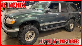 1998 FORD EXPLORER 6 INCH LIFT…